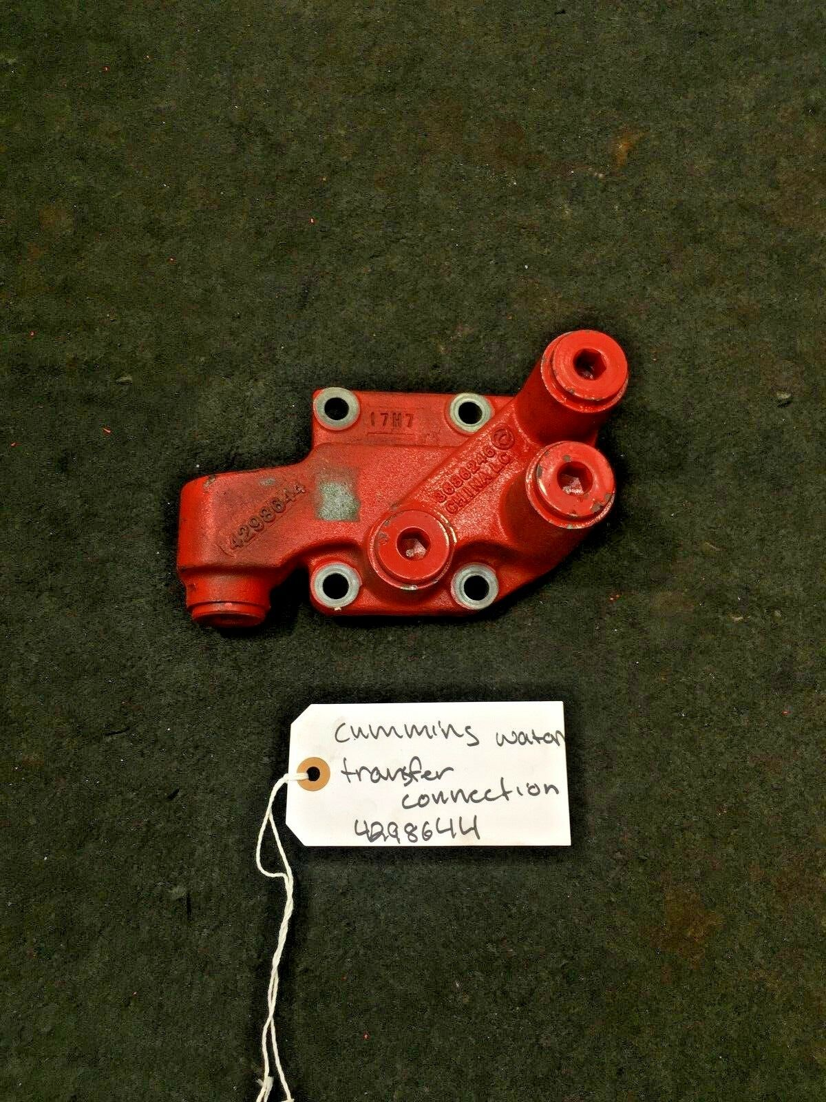 Cummins WATER TRANSFER CONNECTION 4298644 OEM